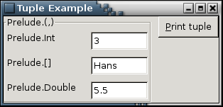 Tuple Example